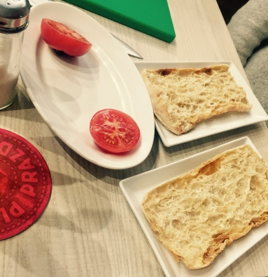 Making Pan con Tamate