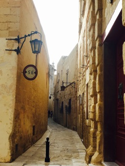 Mdina tiny passageways